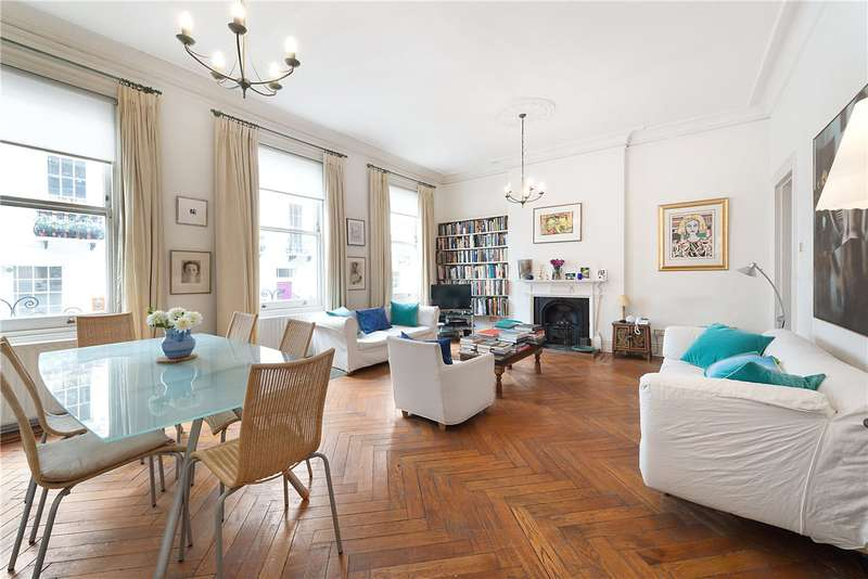 3 Bedrooms Maisonette Flat for sale in Ossington Street, London, W2