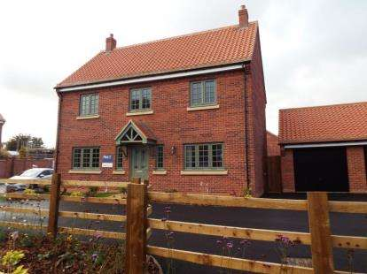 4 Bedrooms Detached House for sale in Regency Gardens, Nottingham Road, Southwell