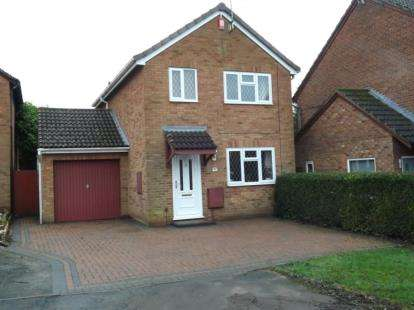 3 Bedrooms Detached House for sale in The Paddock, Stoke Heath, Bromsgrove, Worcestershire