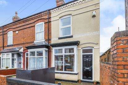 2 Bedrooms End Of Terrace House for sale in Grange Road, Kings Heath, Birmingham, West Midlands