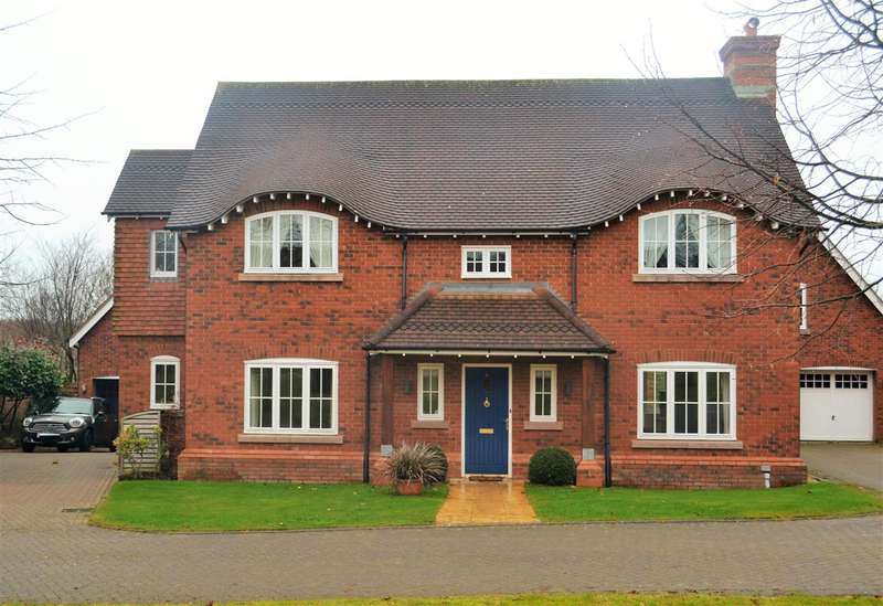 4 Bedrooms Detached House for sale in Wychwood Park, Weston
