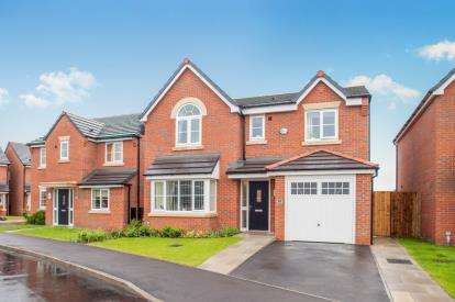 4 Bedrooms Detached House for sale in Chadwick Lane, Widnes, Cheshire, WA8
