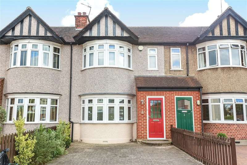 2 Bedrooms Terraced House for sale in Kingswear Road, Ruislip Manor, Middlesex, HA4