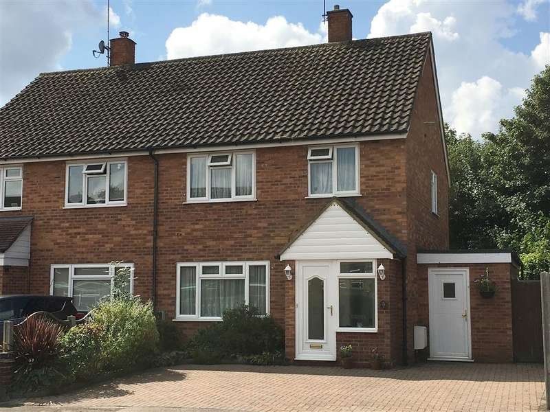 3 Bedrooms Semi Detached House for sale in Leveret Close, Watford, Herts