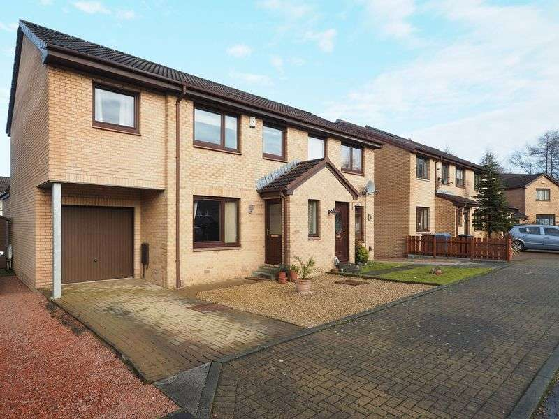 3 Bedrooms Semi Detached House for sale in 37 Robertson Way, Livingston