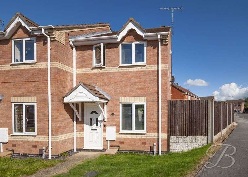 2 Bedrooms Terraced House for sale in Shawcroft, Sutton-In-Ashfield