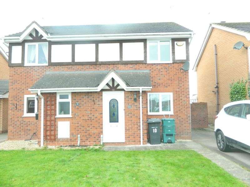 2 Bedrooms Semi Detached House for sale in Llys Trahaearn, Kinmel Bay