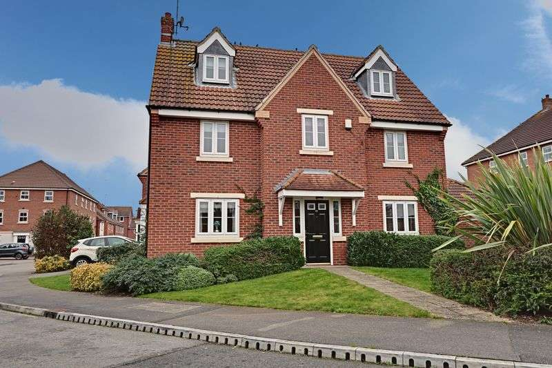 5 Bedrooms Detached House for sale in Hornscroft Park, Hull