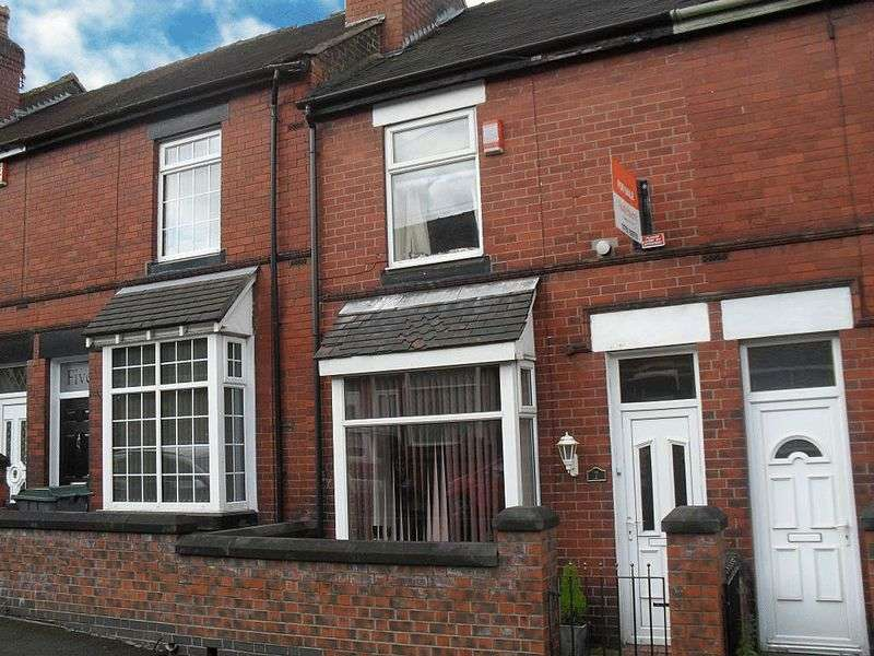 2 Bedrooms Terraced House for sale in Tellwright Street, Burslem, Stoke-On-Trent, ST6 1AX