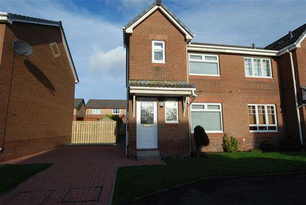 3 Bedrooms Semi Detached House for sale in Knock Jargon Court, Saltcoats