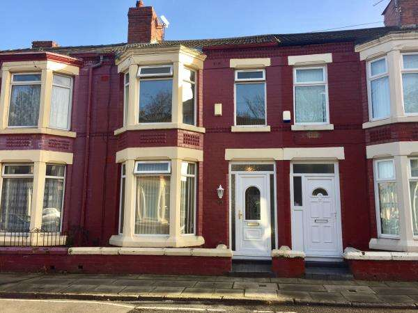 3 Bedrooms Terraced House for sale in 77 ENNISMORE ROAD, OLD SWAN, LIVERPOOL