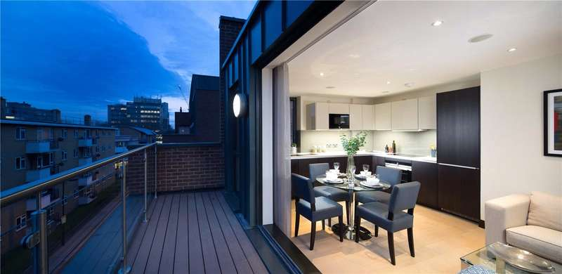 3 Bedrooms Flat for sale in Lancaster Street, London, SE1