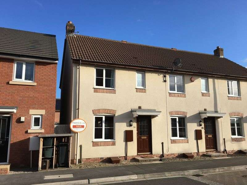 2 Bedrooms Terraced House for sale in Jubilee Way, St Georges, Weston-Super-Mare