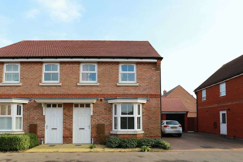 3 Bedrooms Semi Detached House for sale in Teasel Grove, Bognor Regis