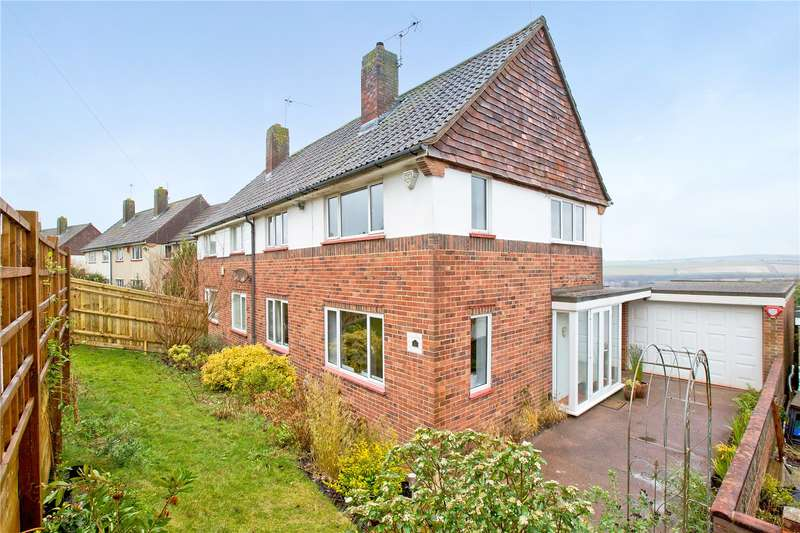 3 Bedrooms Semi Detached House for sale in Rotherfield Crescent, Brighton, East Sussex, BN1