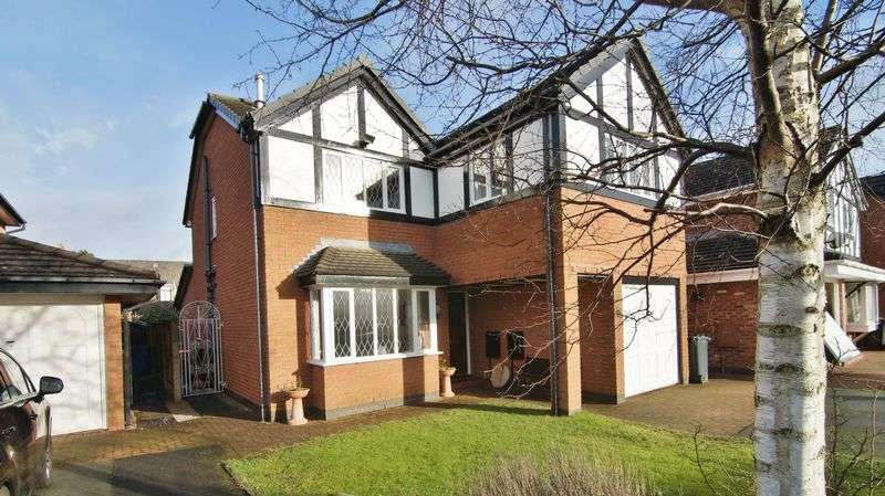 5 Bedrooms Detached House for sale in Richardson Close, Preston, PR4 1PF