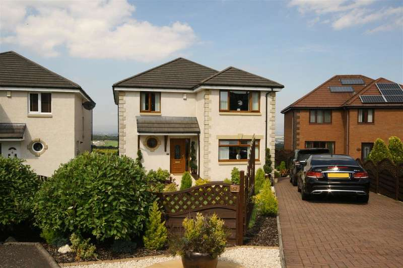 4 Bedrooms Detached House for sale in Anderson Crescent, Shieldhill, Falkirk