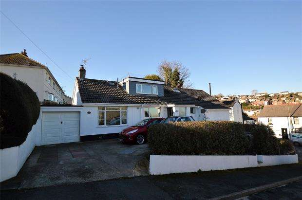 3 Bedrooms Detached Bungalow for sale in Milton Park, Brixham, Devon