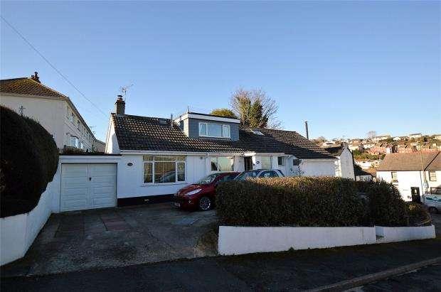 3 Bedrooms Detached Bungalow for sale in Milton Park, Brixham, Devon