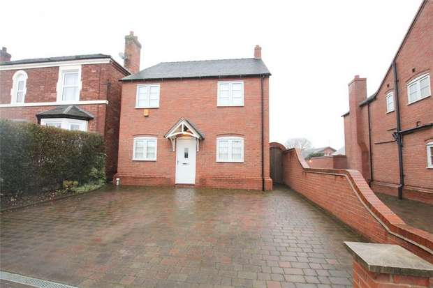 4 Bedrooms Detached House for sale in Main Street, Alrewas, Burton upon Trent, Staffordshire