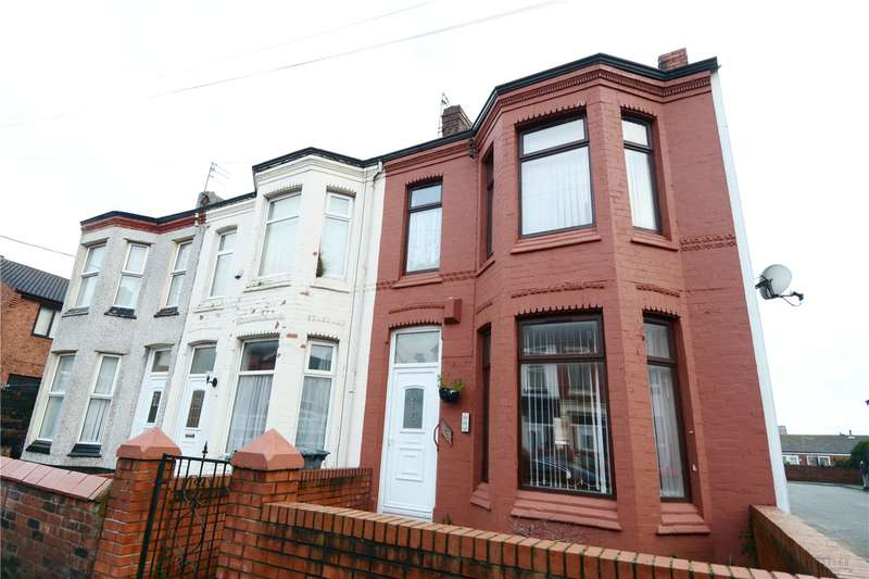 3 Bedrooms End Of Terrace House for sale in Percy Road, Wallasey, Wirral