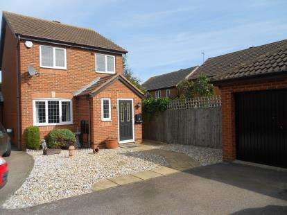 3 Bedrooms Detached House for sale in Barnes Road, Wootton, Bedford, Bedfordshire