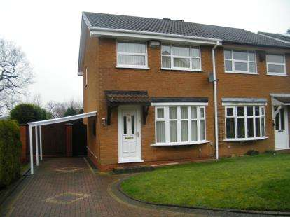 3 Bedrooms Semi Detached House for sale in Marsh End, Birmingham, West Midlands