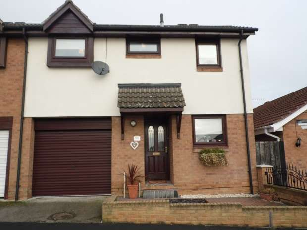 2 Bedrooms End Of Terrace House for sale in Langthwaite Road Scawthorpe Doncaster