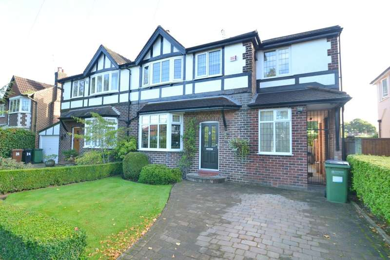 4 Bedrooms Semi Detached House for sale in Mornington Road, Cheadle