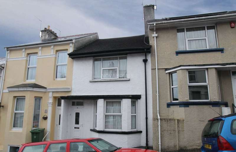 2 Bedrooms Terraced House for sale in Townsend Avenue, Plymouth, PL2 1PA
