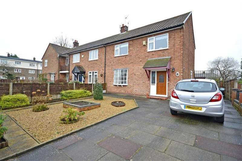 3 Bedrooms Property for sale in RUSHTON DRIVE, Bramhall, Stockport, Cheshire, SK7