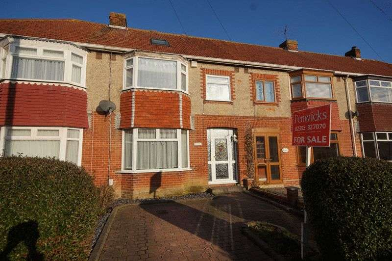 4 Bedrooms Terraced House for sale in Sunningdale Road, Portchetser, Fareham, PO16