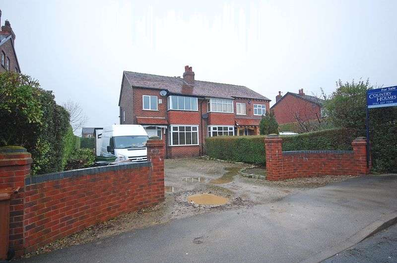 3 Bedrooms Semi Detached House for sale in Cross Lane, Marple, Cheshire