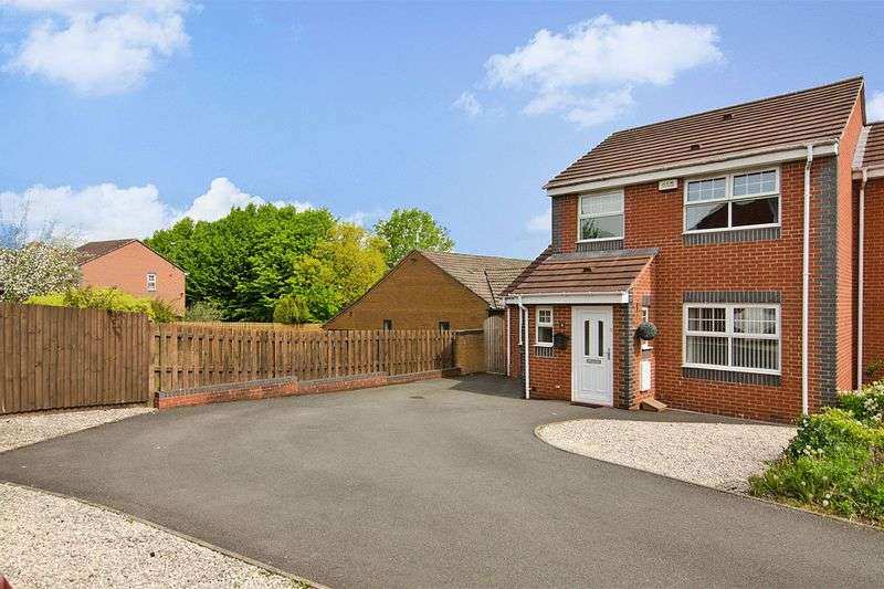3 Bedrooms Semi Detached House for sale in Watts Close, Stafford