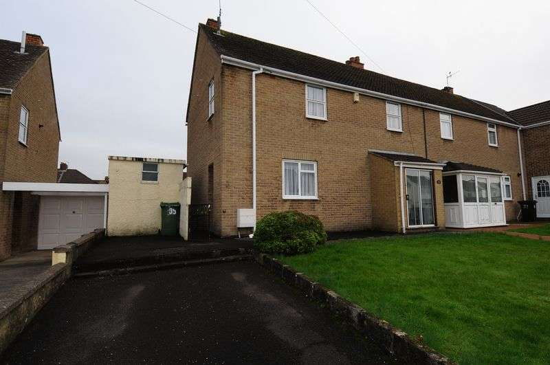 3 Bedrooms Semi Detached House for sale in Fortfield Road, Whitchurch, Bristol, BS14