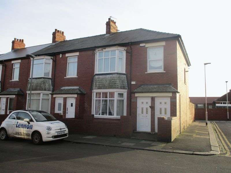 2 Bedrooms Flat for sale in Claremont Terrace, Blyth
