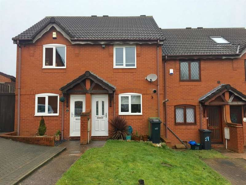 2 Bedrooms Terraced House for sale in Acacia Close, Dudley, DY1