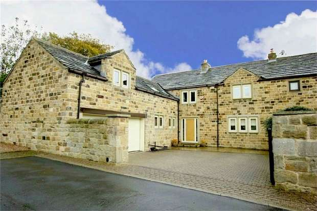 4 Bedrooms Link Detached House for sale in Old Mount Farm, Woolley, Wakefield