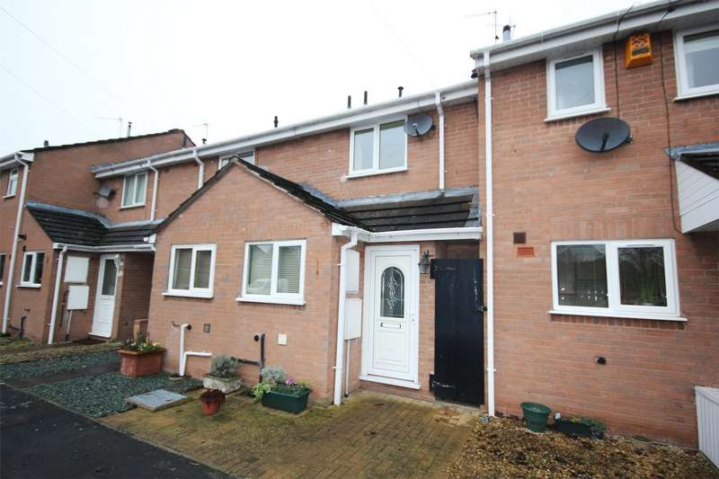2 Bedrooms Terraced House for sale in Adelaide Close, Barbourne, Worcester