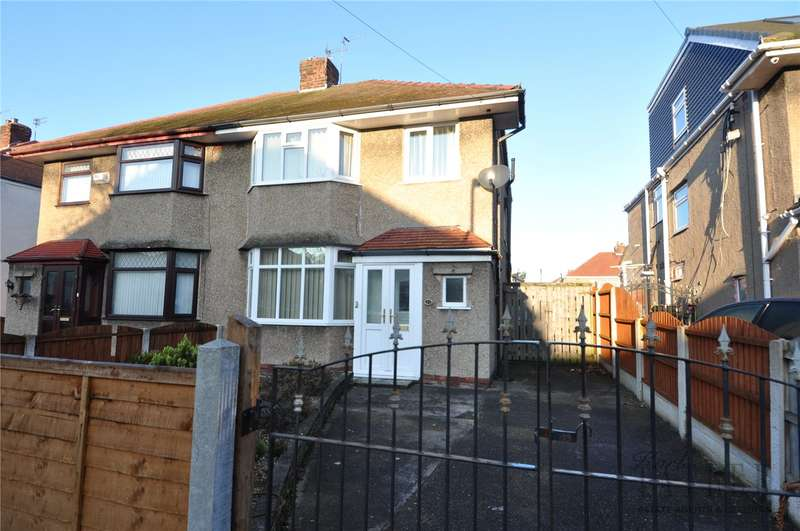 3 Bedrooms Semi Detached House for sale in Eastway, Greasby, Wirral