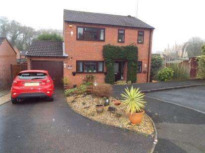 4 Bedrooms Detached House for sale in Rockford Close, Oakenshaw South, Redditch, Worcestershire