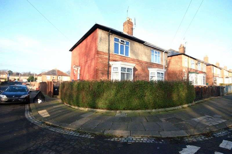 2 Bedrooms Semi Detached House for sale in Pendleton Road Darlington