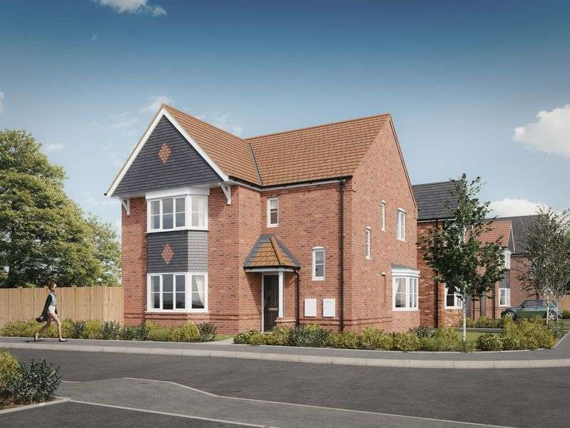 4 Bedrooms Detached House for sale in The Elmsdale, Devereux Grange, Great Haywood
