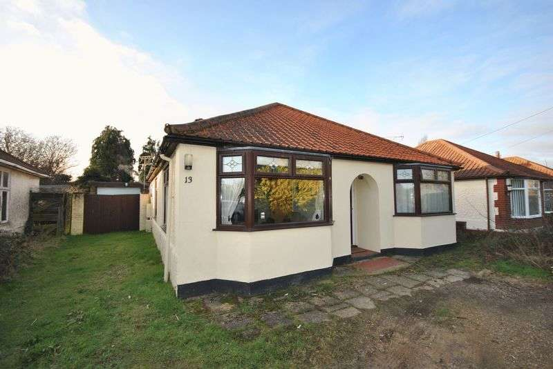 3 Bedrooms Detached Bungalow for sale in Thorpe St Andrew