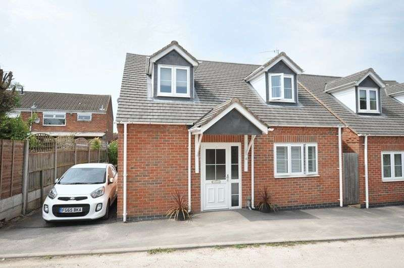 3 Bedrooms Detached House for sale in The Rope Walk (off Bells End Road), Swadlincote
