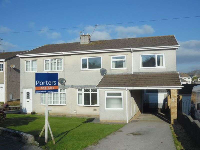 4 Bedrooms Semi Detached House for sale in Heol-y-Bardd Bridgend CF31 4TD