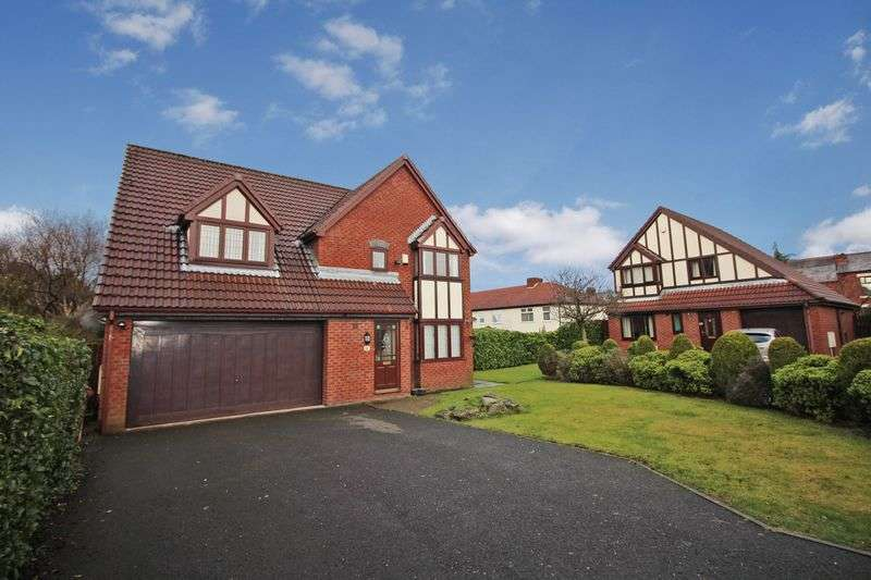 4 Bedrooms Detached House for sale in Greenstone Avenue, Horwich, Bolton, BL6