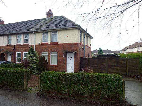 3 Bedrooms End Of Terrace House for sale in Crichton Avenue, Clifton, York