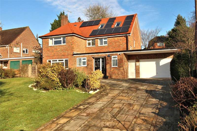 5 Bedrooms Detached House for sale in Bylands, Woking, Surrey, GU22