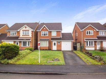 3 Bedrooms Detached House for sale in Hatton Gardens, Nuthall, Nottingham, Nottinghamshire